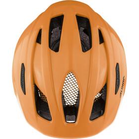 Alpina Pico Flash Helmet Kids, neon orange gloss